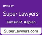 Super Lawyers Tamsin Kaplan logo