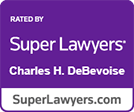 Super Lawyers Charles DeBevoise logo