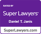 Super Lawyers Daniel Janis logo