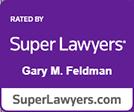 Super Lawyers Gary Feldman logo