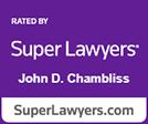 Super Lawyers John Chambliss logo