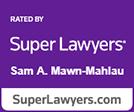 Super Lawyers Sam Mawn-Mahlau logo