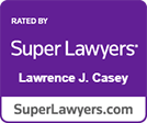 Super Lawyers Lawrence Casey logo