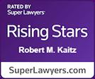 Super Lawyers Rising Stars Robert Kaitz logo
