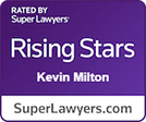 Kevin Milton Super Lawyers Rising Star Logo